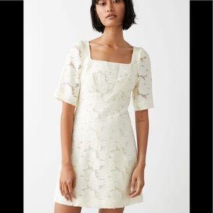 & other stories Floral livia midi dress